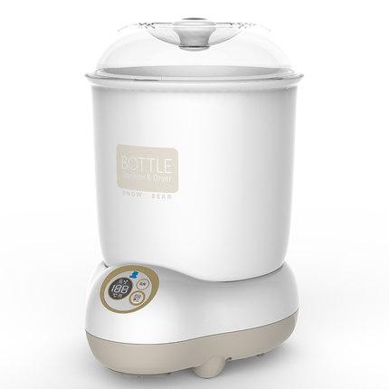 小白熊消毒锅 奶瓶消毒器 智能液晶婴儿消毒锅