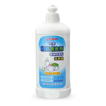 贝亲奶瓶清洗剂洗涤剂 婴儿奶瓶清洁液/洗洁精400ml