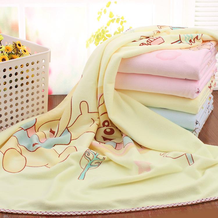 婴儿浴巾宝宝浴巾新生儿加厚盖毯儿童毛巾被