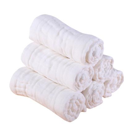 斯贝斯 纱布尿布纯棉可洗婴儿新生儿宝宝12层全棉
