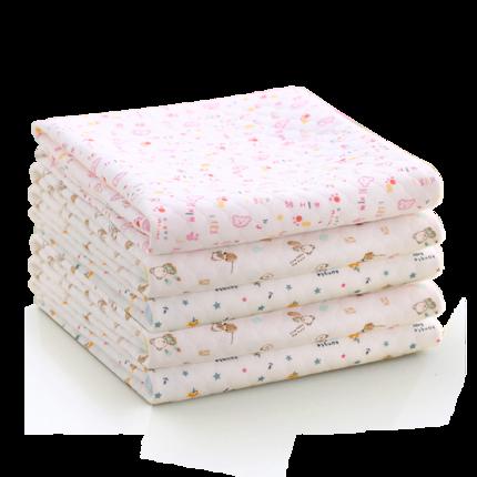 婴儿纯棉隔尿垫超大号透气防水宝宝床垫可洗月经垫