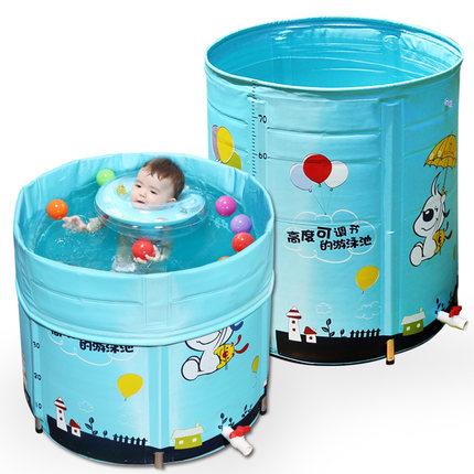 诺澳婴儿游泳池家用新生幼儿童合金支架
