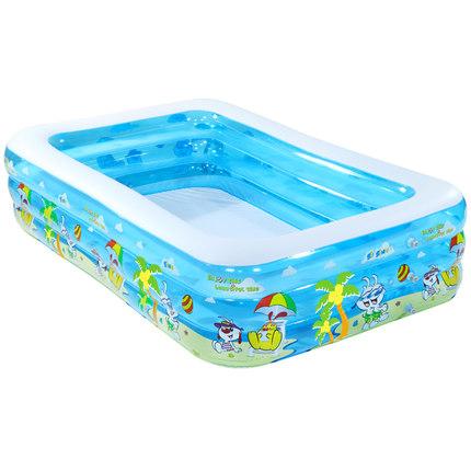 诺澳婴儿童充气游泳池家庭超大型海洋球池