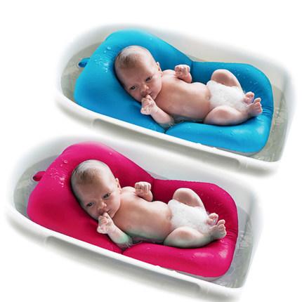 阿兰贝尔婴儿洗澡架新生儿浴盆网兜