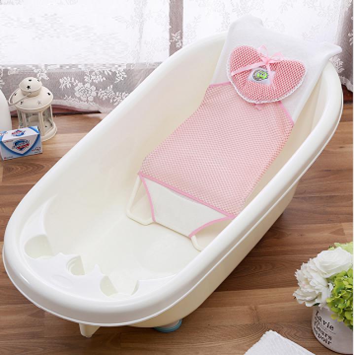 加厚防滑浴网婴儿洗澡架宝宝浴网兜新生儿沐浴架