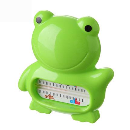 日康青蛙水温计婴儿宝宝洗澡用具 冷热测温计
