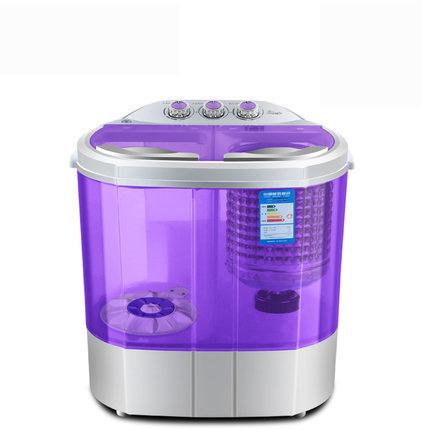 AUX/奥克斯 双桶缸半自动宝婴儿童小型迷你洗衣机