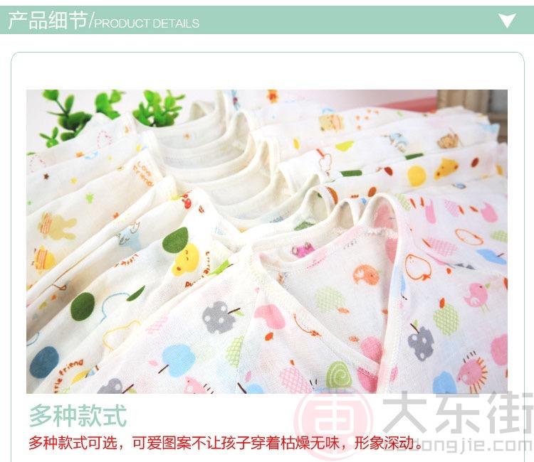 纱布连体衣产品细节