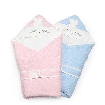 全棉时代 婴儿针织抱被  90x90,宝宝保护罩