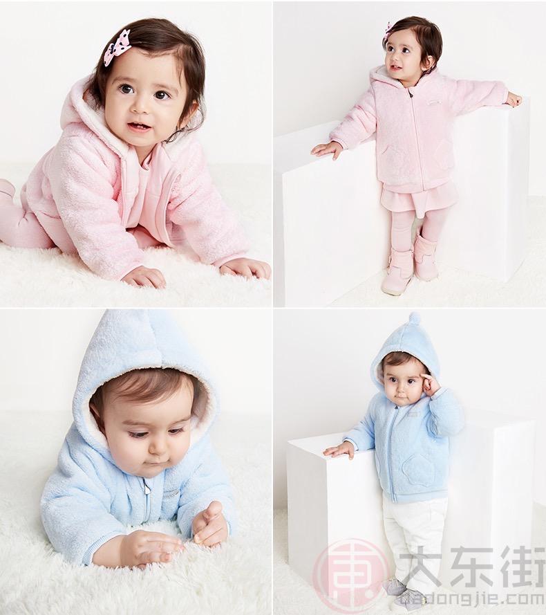 英氏儿童夹棉外套产品展示