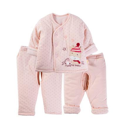 童泰婴儿棉衣三件套棉袄,买的放心,用的安心