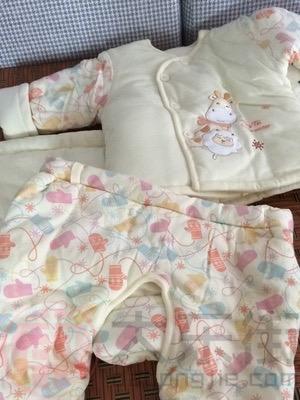 童泰婴儿棉衣宝妈晒照2