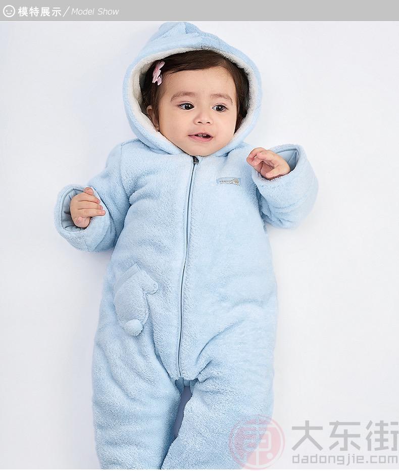 英氏婴儿连体衣女宝展示