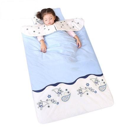 龙之涵婴儿睡袋儿童防踢被可脱胆