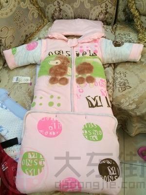 婴儿睡袋纯棉宝妈晒照1