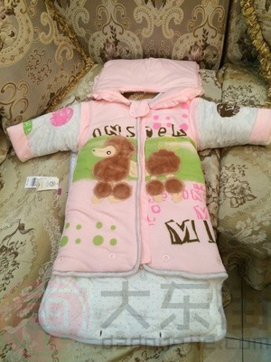 婴儿睡袋纯棉宝妈晒照3