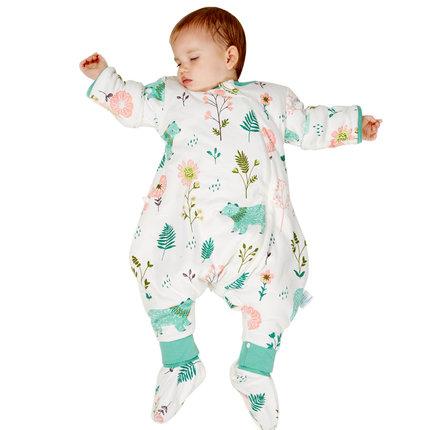 分腿睡袋加厚婴儿夹棉防踢被