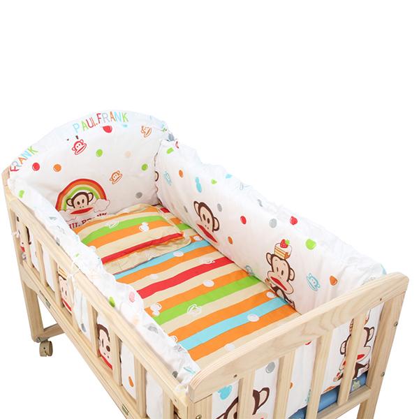 婴儿床实木可摇床,宝宝的第一个床