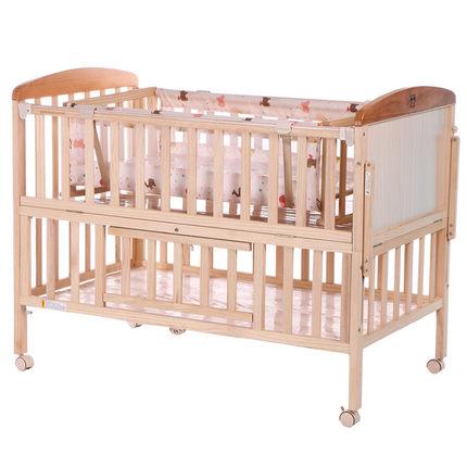 gb好孩子婴儿床实木无漆,可以用到六岁的婴儿床