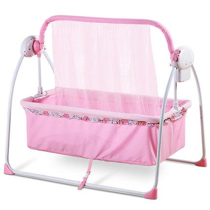 婴儿床电动摇篮床,让妈妈更轻松带宝宝