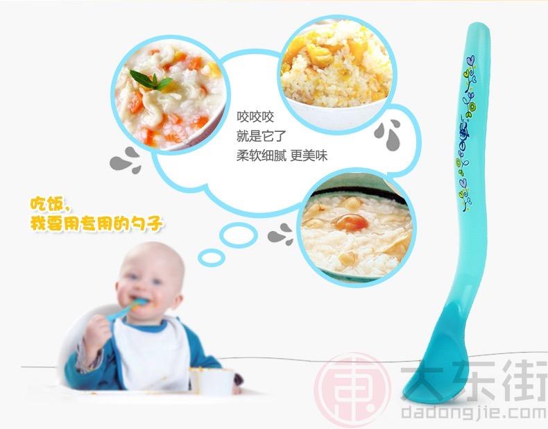 日康婴儿感温软头汤勺宣传图2