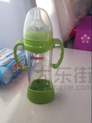贝亲婴儿玻璃奶瓶买家秀晒照3