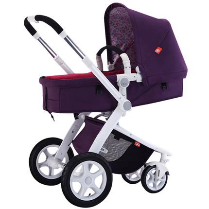 gb好孩子婴儿推车可躺可坐折叠GB08-W,给宝宝一个豪华的私人空间